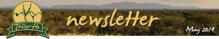 Tally-Ho Hunting Safaris - newsletter May 2019